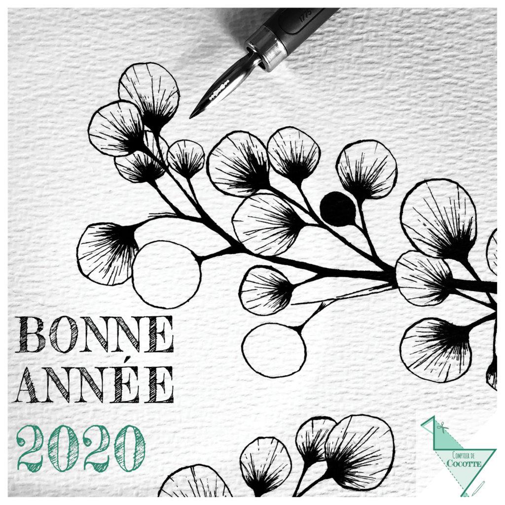 2020 Carte de Voeux Comptoir de Cocotte