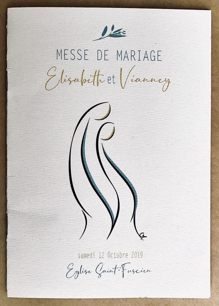 Livret de messe mariage