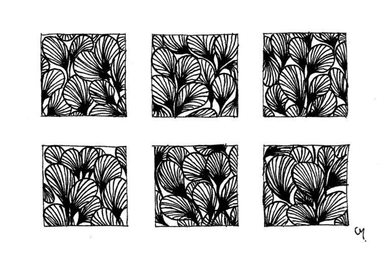 Motifs Floraux - petit - 5