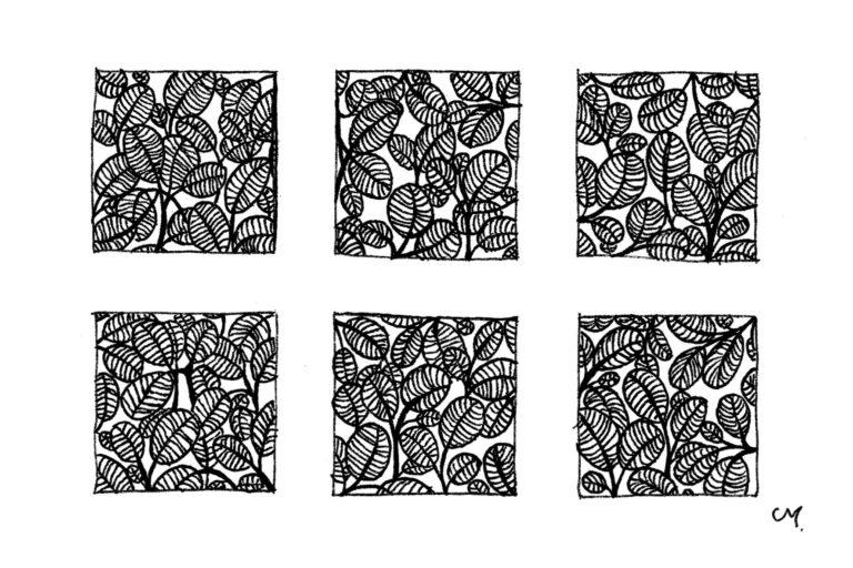 Motifs Floraux - petit - 6