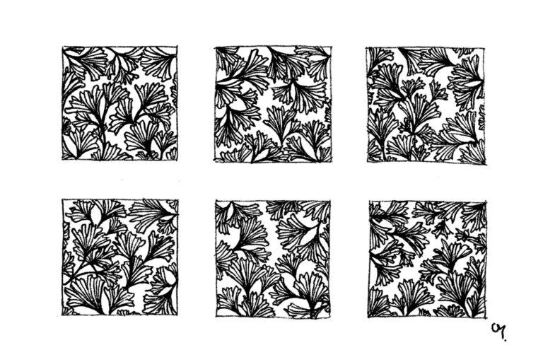 Motifs Floraux - petit - 7
