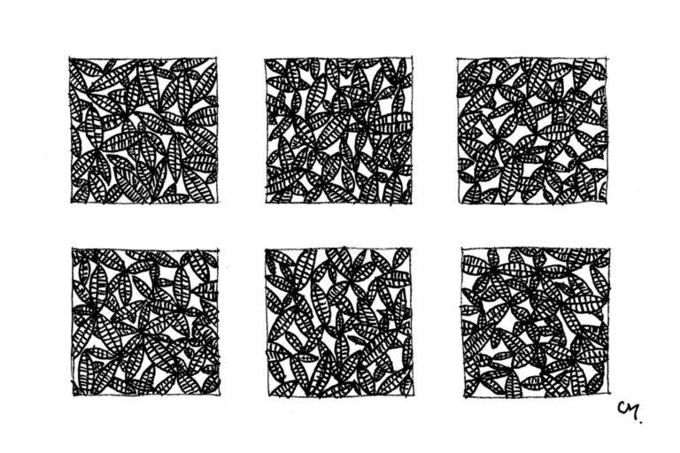 Motifs Floraux - petit - 8