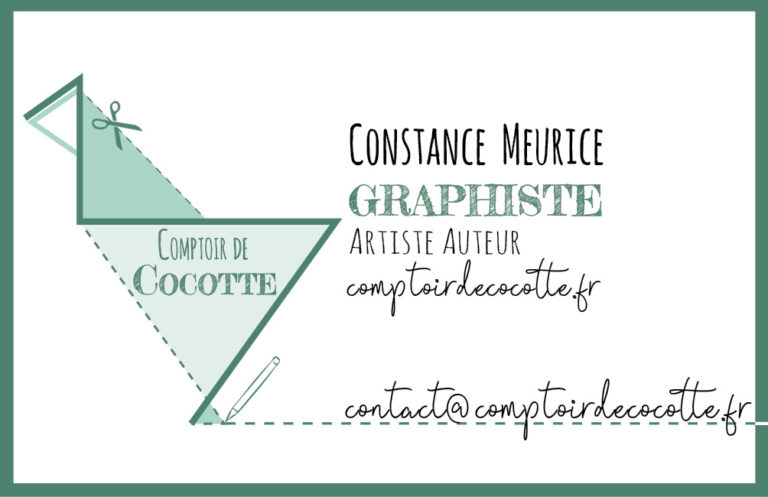 Carte de visite - Comptoir de Cocotte - recto