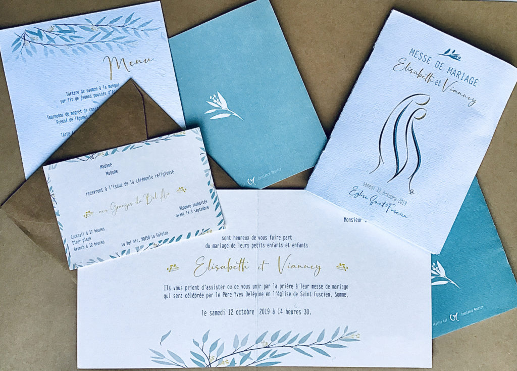 Pack graphisme mariage