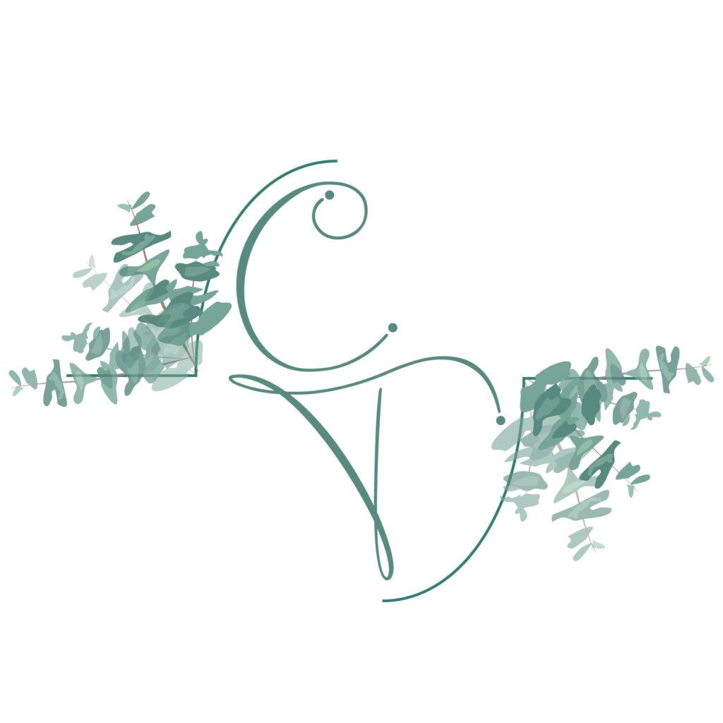 Logo mariage C&T